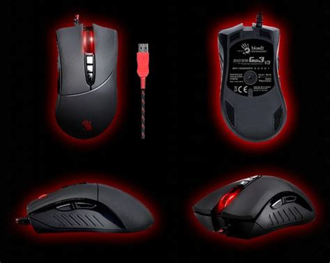 Bloody Ultra 3 Gaming Mouse bloody multicore gun3 v3 gaming mouse ultra core3 activated