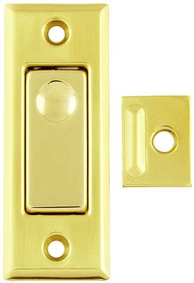 Solid Brass Pocket Door Privacy Bolt With Choice Of Finish