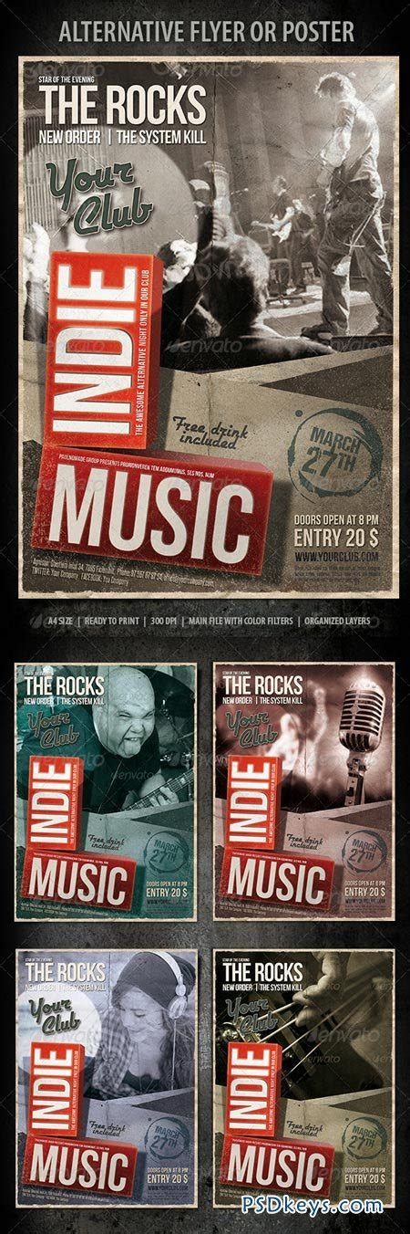 graphicriver flyer download graphicriver indie music flyer 6965550 187 download free