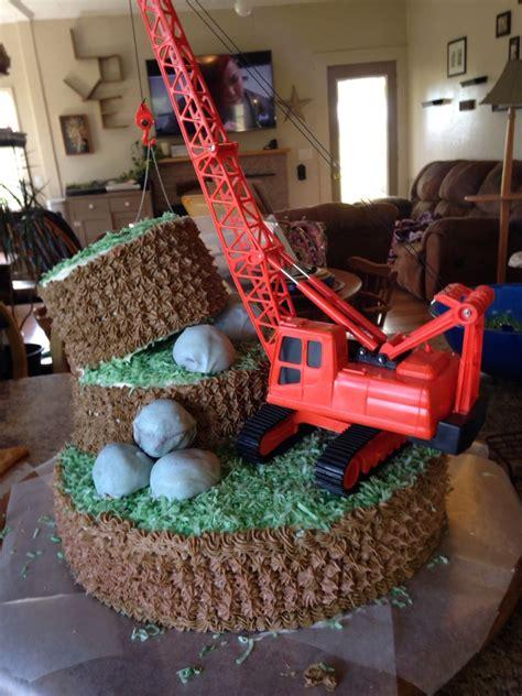 cake birthday boy   year  retired crane operator wa   cake  years