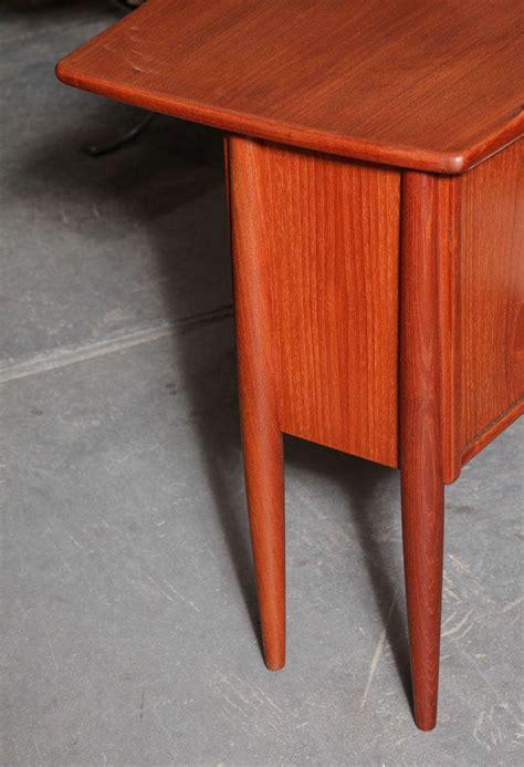 danish modern desk l danish modern l shaped teak desk at 1stdibs