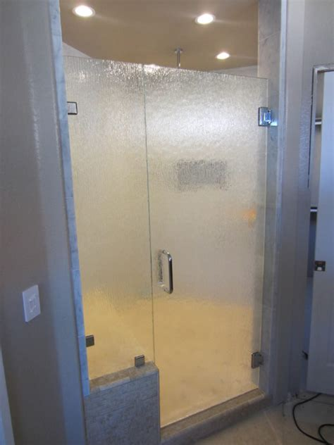 Raindrop Glass Shower Door Glass Shower Doors