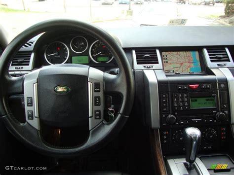 range rover sport dashboard 2008 land rover range rover sport hse ebony black