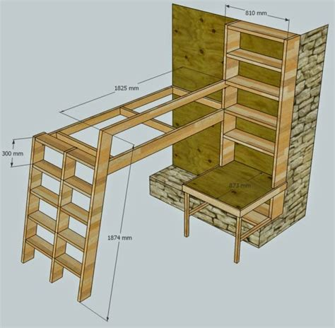 Meja Untuk Lu Tidur a cara membuat tempat tidur tingkat untuk kamar anak diy weekend project