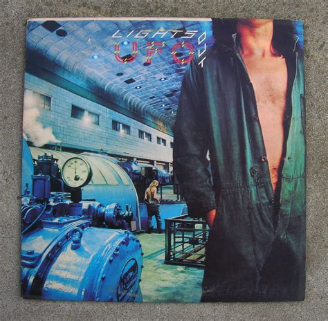 Ufo Lights Out by Ufo Band Lights Out L P Record Vinyl Michael Schenker