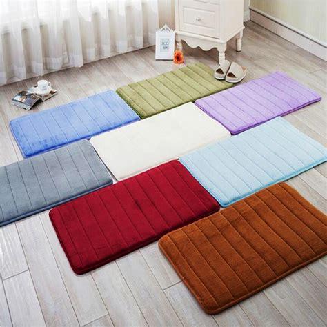 mats for room memory foam bathroom carpet thickening microfiber velvet