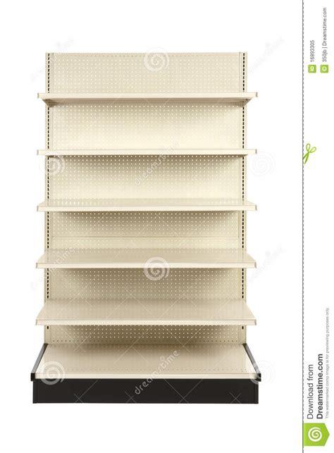 Shelf Store by Empty Retail Store Shelf Royalty Free Stock Photo Image