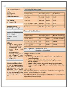 accountant templates freshers chartered accountant resume format freshers page 2 cv