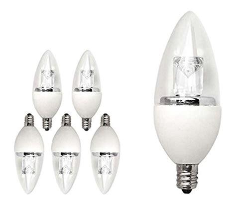 40 watt equivalent 6 pack led chandelier light bulb small