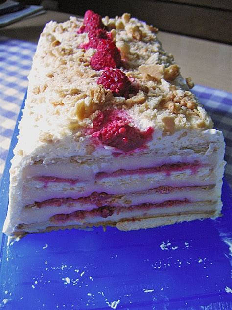 himbeer keks kuchen himbeer keks kuchen rezept mit bild