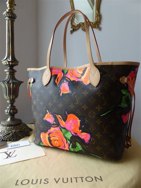 New Arrival Louis Vuitton Limited Edition Stephen Sprouse 41526 C louis vuitton limited edition neverfull mm monogram roses