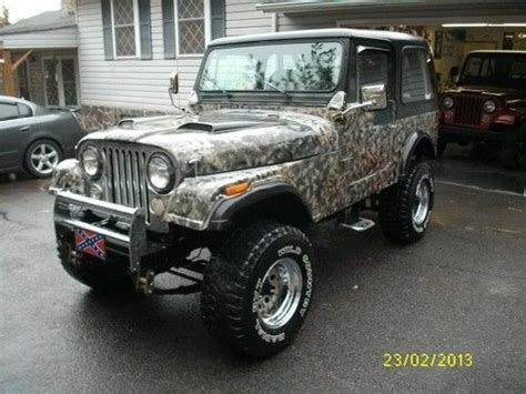 1976 Jeep Cj7 For Sale Find Used 1976 Jeep Cj7 Renegade 304v8 At Ps Db In Bassett