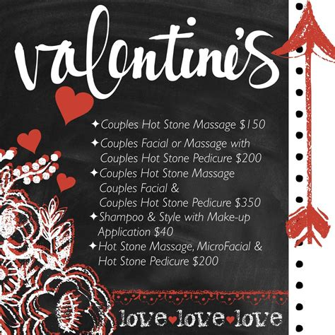 hair dresser s day valentine s day specials shear structure salon and spa