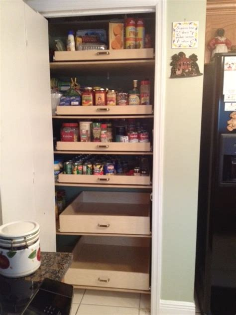 Pull Out Pantry Drawers by Pantry Pull Out Shelves Miami By Shelfgenie Of Miami