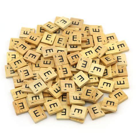 scrabble set letters wooden scrabble tiles custom letters set for jewelry