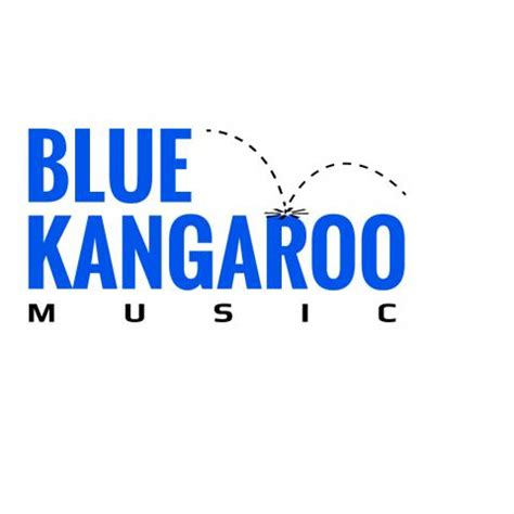 logo with blue kangaroo blues clipart images