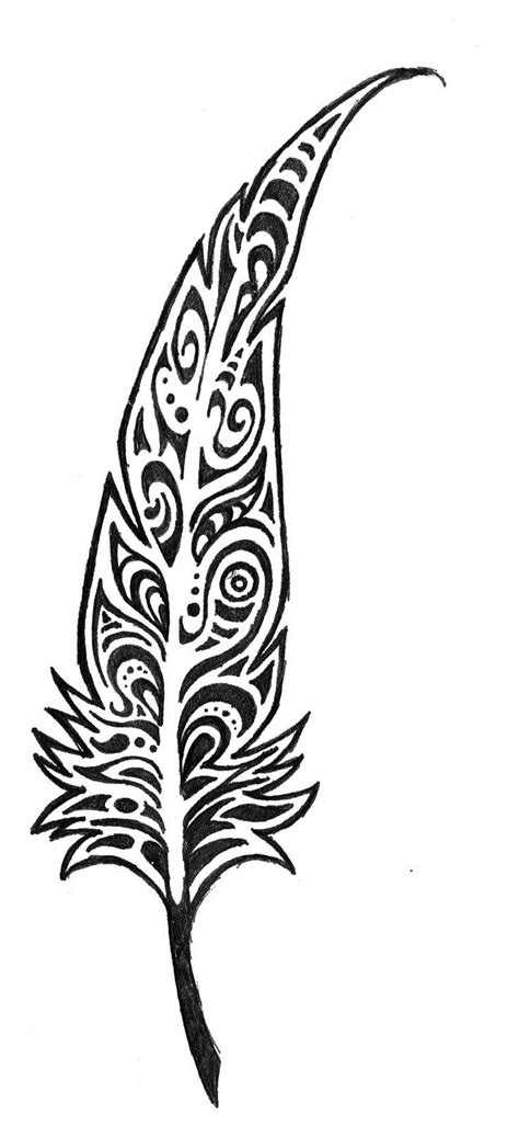 tribal feathers tattoos 13 best images about arrow tattoos on feathers
