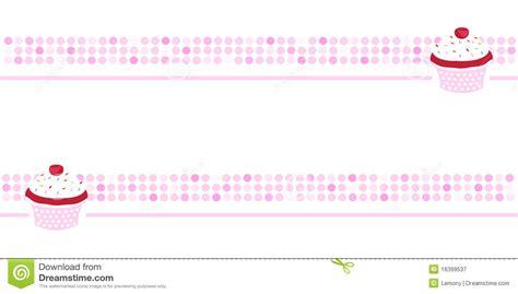 Wallpaper Gelombang Pink 10 Meter 45 Cm cupcake background pink wallpaper banner stock vector