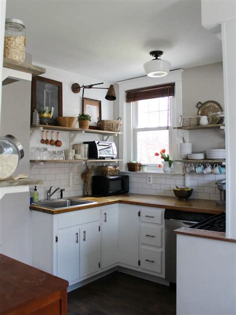 remodel small kitchen before and after kitchen remodels on a budget hgtv