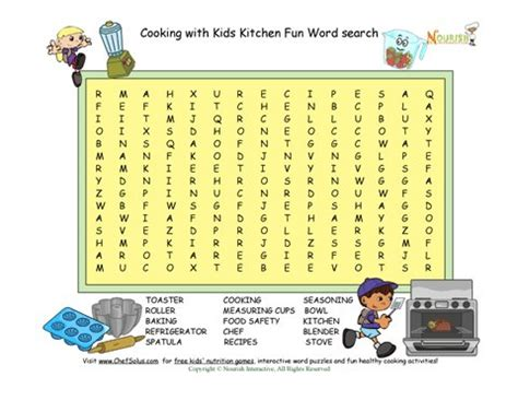 kitchen tools crossword puzzle wow blog