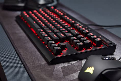 Keyboard Gaming Corsair K63 corsair targets pc gamers on a budget with its new compact mechanical keyboard