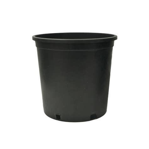5 Gallon Planter Pots by Injection Molded Pots 5 Gallon Squat Injection Molded Pot