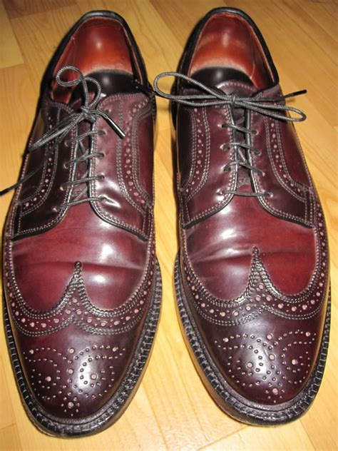 Brogues Maroon 100 Genuine Leather a ridiculously comprehensive guide to buying used allen