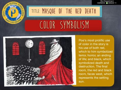 masque of the red death color symbolism masque red death lesson plan friday