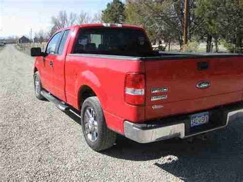 how petrol cars work 2006 ford f150 transmission control buy used 2006 ford f 150 xlt supercab red chrome edition 4x2 5 4l v 8 auto trans in lewis