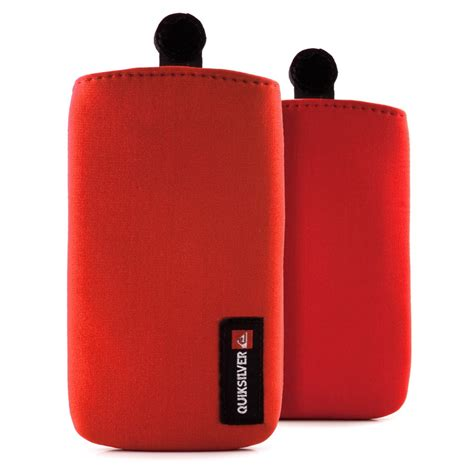 quiksilver neoprene cell phone pouch proporta