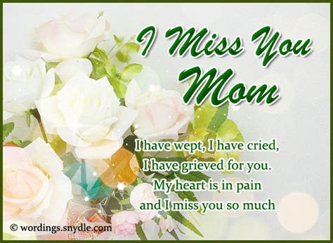 missing  mom quotes  daughter son    quotes