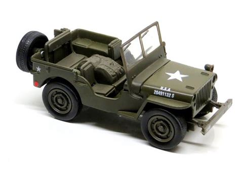 New Item Diecast Miniatur Mobil Jeep Willys Army Diecast Pajangan diecast willys jeep us army 1 32 scale model with pullback