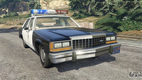 ford ltd crown victoria 1987 lspd for gta 5