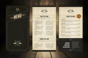 illustrator menu template print ready drink menu template psd ai indesign eps word