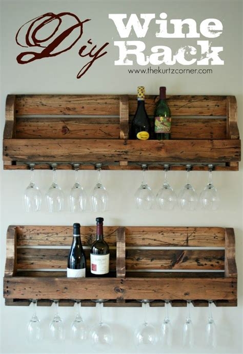 Make A Wine Rack Out Of A Pallet by Pallet Wine Rack Diy Diy Brilliance