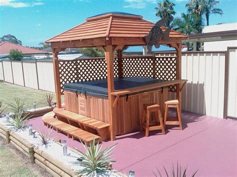 Outdoor Spa For Sale Spa Gazebo Kits Sale Gazeboss Net Ideas Designs And