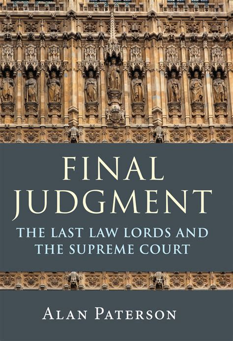 the last judgment books and politics book review judgment the last