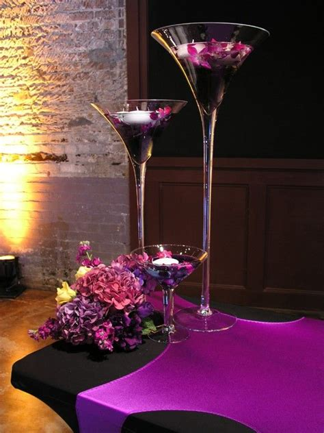 martini glass centerpiece martini glass centerpiece