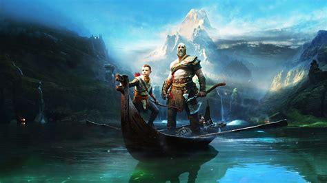 god  war kratos  atreus wallpaper  full hd pictures