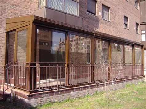 cerramientos porches cerramientos de aluminio en porches en madrid