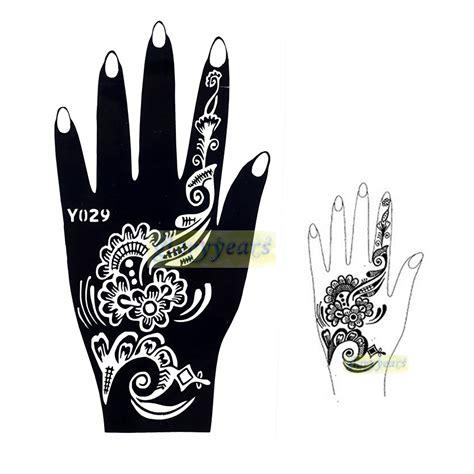 henna tattoo zum kleben henna zum ausdrucken makedes
