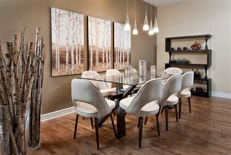 contemporary dining room wall art ideas home interiors incredible birch tree wall decal decorating ideas for