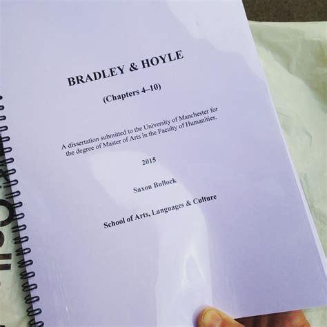 spiral bound dissertation dissertation bound manchester