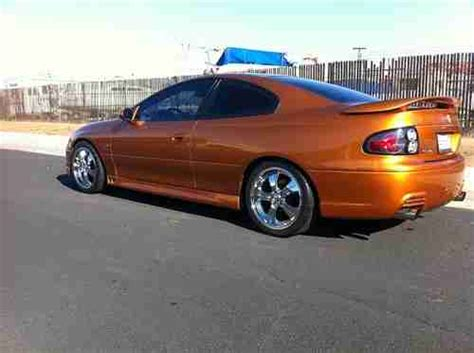 auto air conditioning service 2006 pontiac gto parking system buy used 2006 pontiac gto 6 0 ls2 6 speed low miles in clovis california united states for
