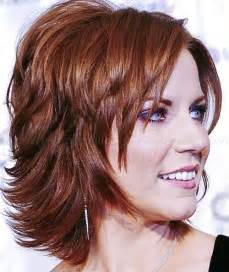 layered medium haircuts for 50 shoulder length hairstyles over 50 shoulder length