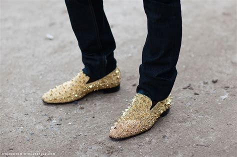 gold spiked loafers pin by barcelos on fashion