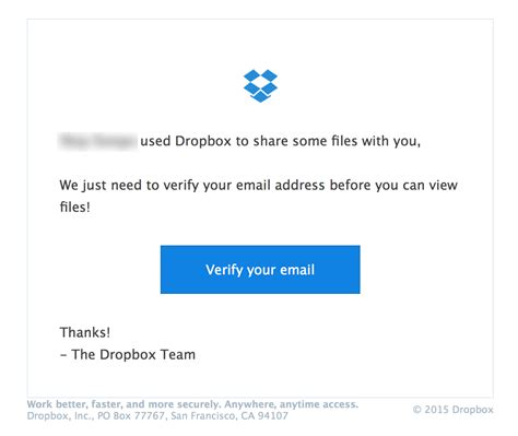 dropbox email phishing dangers in business and how to avoid getting