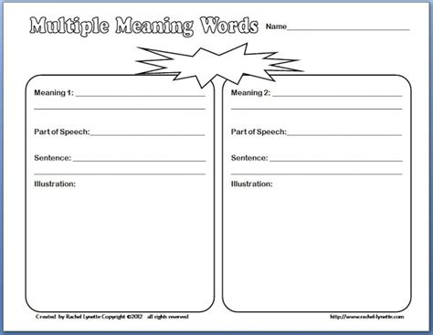 multiple meaning word printable games words with multiple meanings worksheet 1000 ideas about