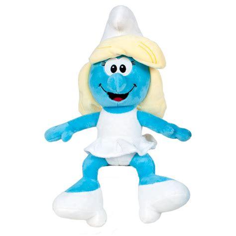 smurfette the smurfs soft toy plush 20cm ociostock