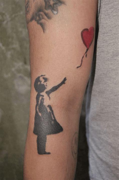 banksy tattoos banksy work best design ideas